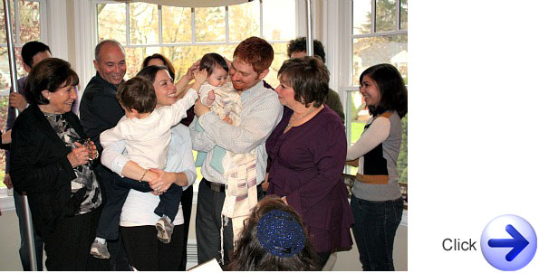 Jewish Naming Ceremony The Blessing and Introduction of Newborn Babies into the Community