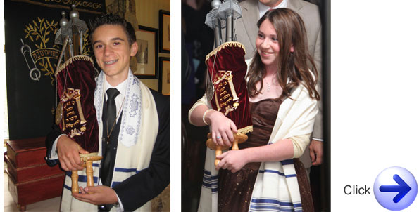 Online Bat Mitzvah and Bar Mitzvah Lessons