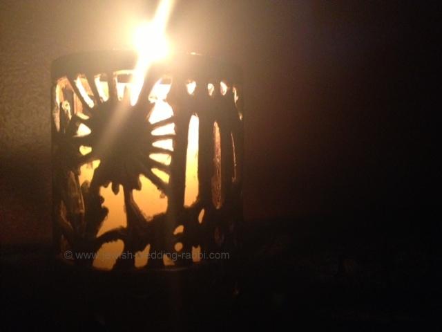 Yahrzeit Memorial Candle