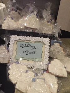 Wedding Cake Cookies by Pastry Chef Elise