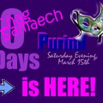 Purim Festival  – The Countdown is Complete!