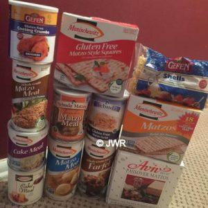 Passover Tower Goodies