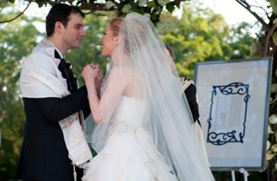 The Couple, the Chuppah, the Ketubah, the Tallit <br> Elements of a Jewish Wedding Ceremony
