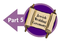 Jewish Wedding Seven Blessings