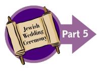 Jewish Wedding Blessing Ceremony