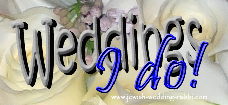 Rabbi Services includes all wedding ceremonies