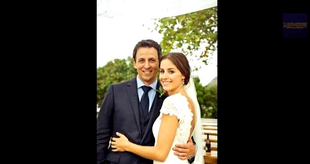 Seth Meyers of SNL Fame Marries.