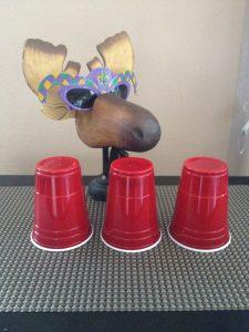 Purim Carnival Ideas - 3 Cup Monti Mordecai