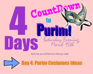 Purim Costumes Ideas - Day 4 of the Countdown