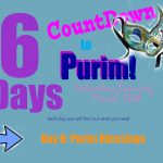 Purim Blessings - Day 6 Countdown
