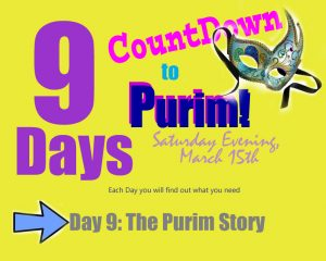 Purim Story - Day 9 of the Countdown