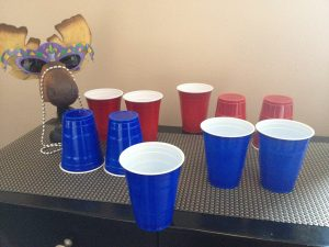 Purim Carnival Ideas - After-you-Drink-Drunk-Flip-the-Cup-Purim-Challenge