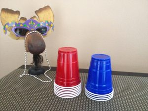 Purim Carnival Ideas - Beat_the_Clock_Solo_Cups-Message_to_Esther