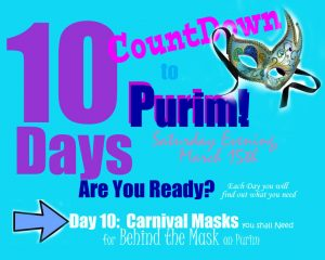 Purim 2014 - Countdown Day 10