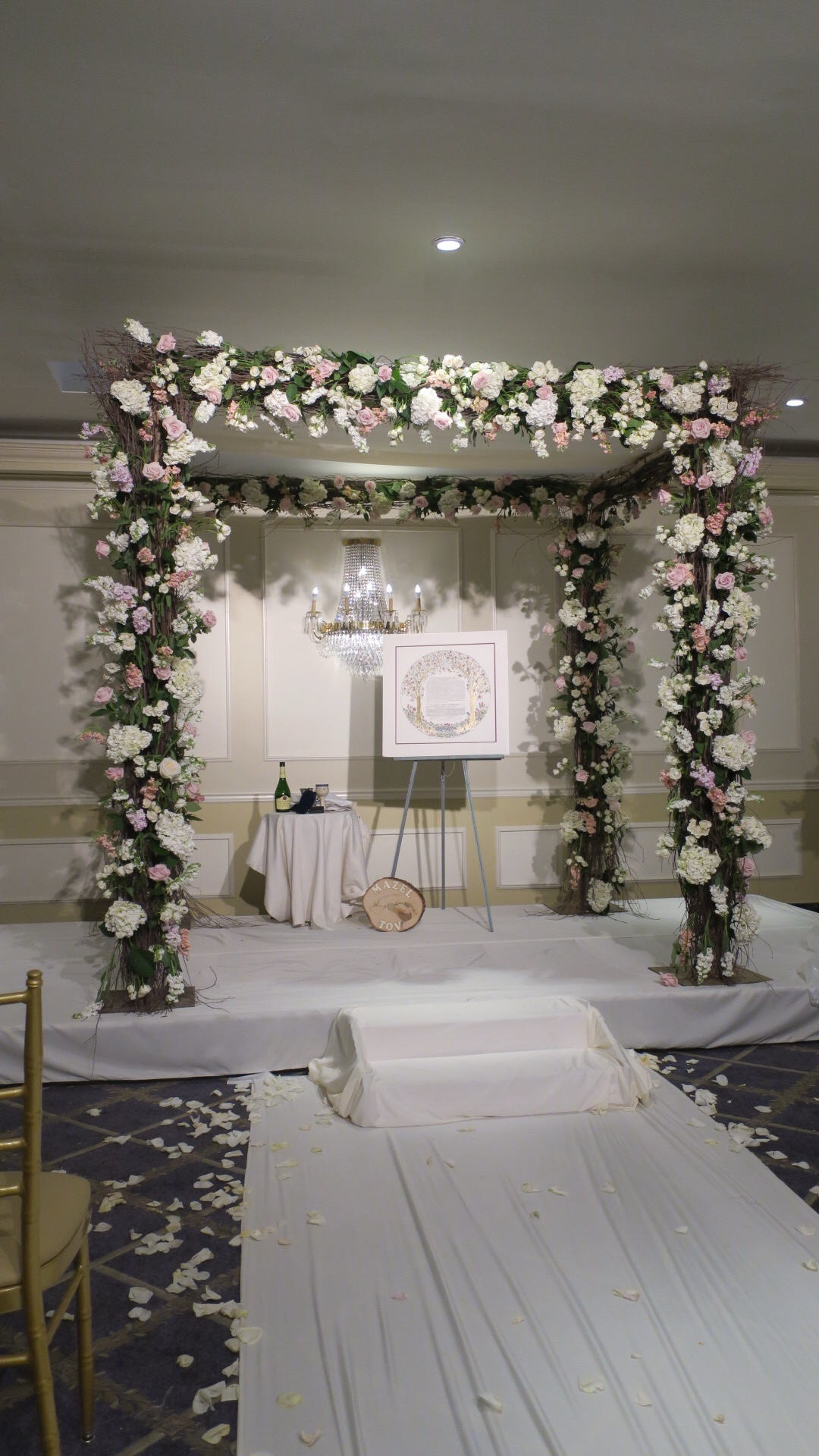 Floral Chuppah Wedding Canopy