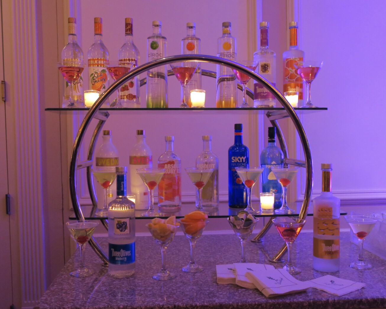Great Gatsby would approve of the Martini Bar