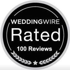 JWR Awarded Wedding Wire Badge